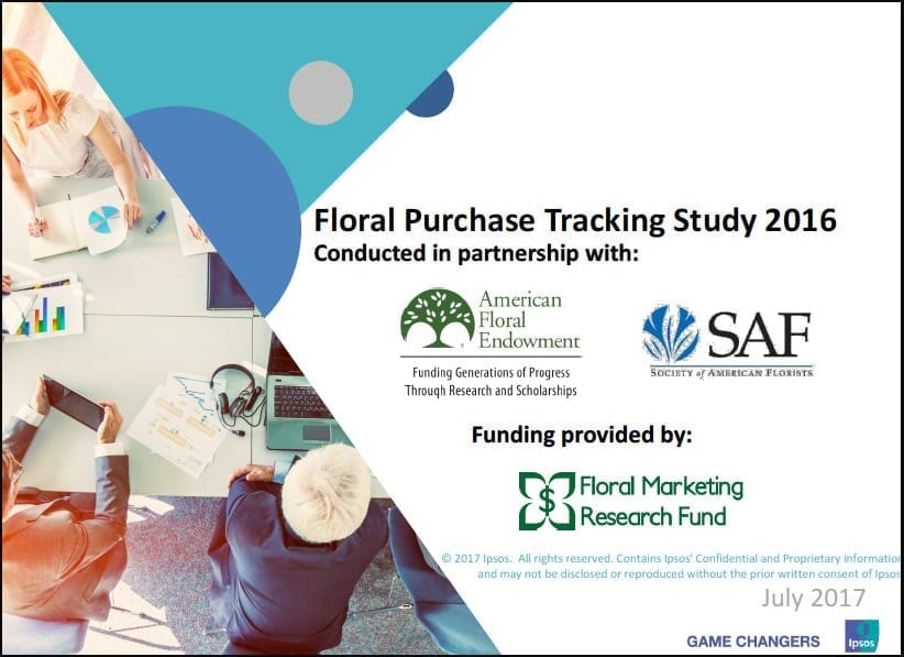 New Floral Purchasing Study Reveals Data on Flower-Buying Consumers