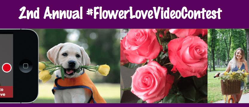 2nd Annual #FlowerLoveVideoContest Winners Announced